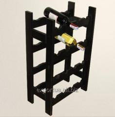 Rack for wine 25*48*75,5sm, the Alder