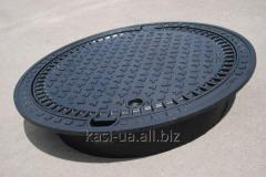The superheavy manhole KASI with the self-leveling KEN81P Europa case of 60 tons