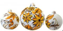 4 Christmas tree decoration Decorated ornaments