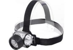 Светодиодный налобный фонарь BAILONG BL-050-12LED (пыленепроницаемый, влагостойкий)
