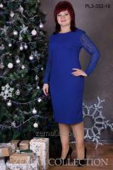 PL3-332 dress of the big sizes