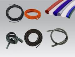 Profiled rubber seals