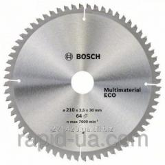 Circular saw on a tree of Bosch 160x20/16x42z