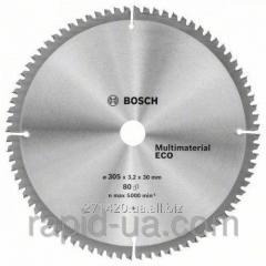 Circular saw on a treeof Bosch