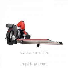 Hand circular saw of KSS 400/36 V in a shipping