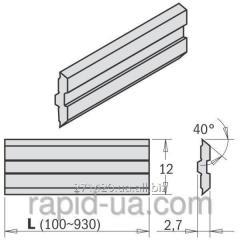 Knife planing 610×12×2,7 Centrostar, Centrofix,