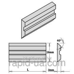 Ножи строгальные 100×16×3 Centrolock CMT