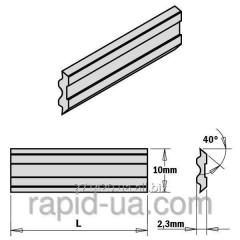 Fugovalno planing knife 100×10×2,3 Tersa CMT