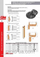 Комплект фрез с механическим креплением для изготовления дверной коробки 110.02.00.00.000