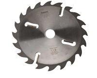 Пилы дисковые с расклинивающими ножами по периметру 4 подрезных