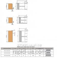 Mill for merging of wood on width 100х32х50х4