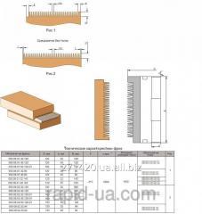 Mill for merging of an eurobar 120x32 40 h120kh2+2