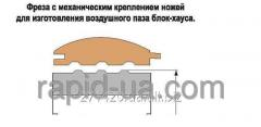Фреза для изготовления воздушного паза под Блок-хауса 180х40 50 х185 061.15.04.00.000-04