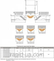 Фреза для обработки боковой поверхности реечного плинтуса 160х40 50 х20х3 061.30.00.00.000-03