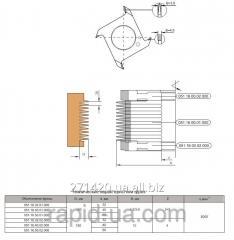 Mill for longitudinal merging 150x32 40,50 h12