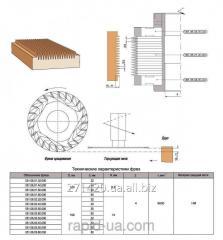 Фреза для продольного сращивания древесины 160х40 50,60 х3,8 051.06.01.00