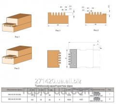 Фреза для сращивания древесины по ширине и длине 100х32х50х4 050.03.00.00.000