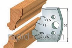 Комплекты фигурных ножей CMT серии 690/691 #558 690.558