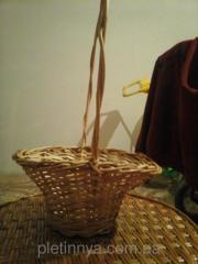 Плетеная подарочная корзина Роксолана