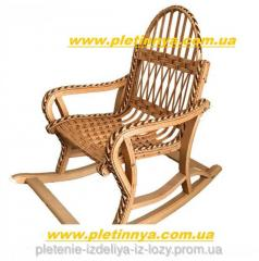 Rocking-chair from a rod children's