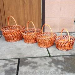 Набор пасхальных корзин