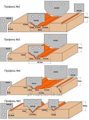 Комплекты фигурных ножей CMT серии 690/691 #504 690.504