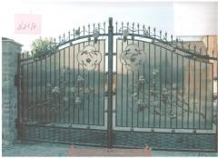 Кованые изделия: ворота, калитки, заборы,