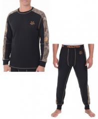 Термобелье для охоты Realtree Mens Midweight Performance Thermal Top & Bottom
