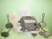 Signaling device automatic hazardous voltage of