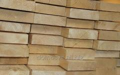 The board is cut, production of cut timber