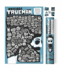 "Skretch the poster ""#100 PUT TrueMan"