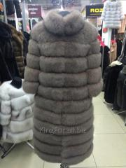 Transforming fur coat from fur of the Finnish