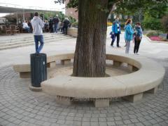 Bench pristvolny BOOMERANG
