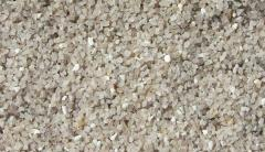 Quartz sand dry fractioned fr. to 0,63, from 0,4