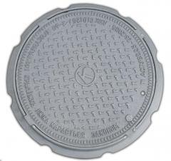 Люк канализационный средний тип С (В125)