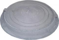 Люк канализационный легкий тип Л (А15)