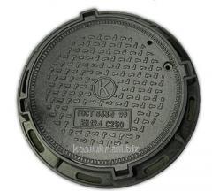 Люк канализационный тяжелый тип Т (С250)