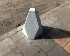 Ограничитель проезда (боллард) бетонный...