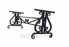 Опора (каркас) лавки садово-парковой металическая № 7 (2 м.)
