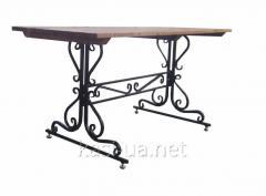 Опора стола металическая № 1 (1, 5 м.)