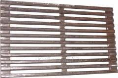 Решетка чугунная барбекю 445 х 240 мм.