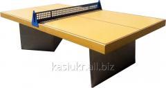 Стол теннисный бетонный №1