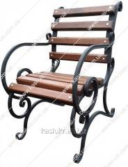 Стульчик садово-парковый с подлокотниками 0,...