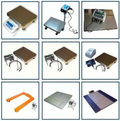 Scales for loaders