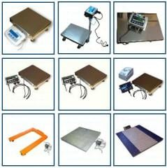 Scales for agricultural products