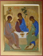 The icon of the Holy Trinity, sale of icons to buy