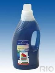 Laundry liquid detergent for silk and wool in