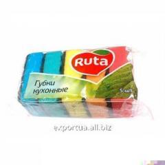 Губки кухонные большие ТМ Ruta (5 шт.)