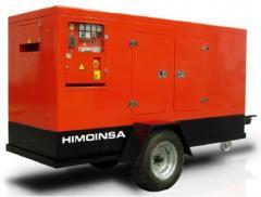 Diesel generators mobile (mobile) Scania, Perkins,
