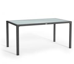 Стол, серый, lechuza 160*90*75 см
